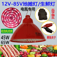 12VLED水果生鲜灯插电瓶车低压可调光红色加白光夜市摆摊猪肉专用 45 其它