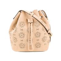 【网易考拉】【18新款】COACH 女士雕花抽绳单肩水桶包
