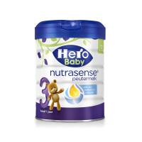 【网易考拉】Hero Baby 白金版婴儿配方奶粉3段(1岁以上)700克/罐