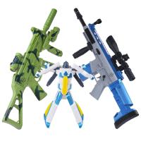3-8岁儿童电动玩具枪男孩左轮冲锋枪声光枪