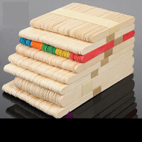 【支持礼品卡】diy手工制作冰激凌棒材料雪糕棒冰棍棒棍木棒冰棒棍建筑模型材料u5o