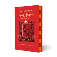 英文原版 哈利波特与密室20周年学院纪念:格兰芬多版 精装 Harry Potter and the Chamber