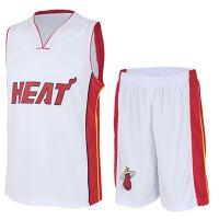 新赛季迈阿密热火队篮球服 韦德波什球服套装