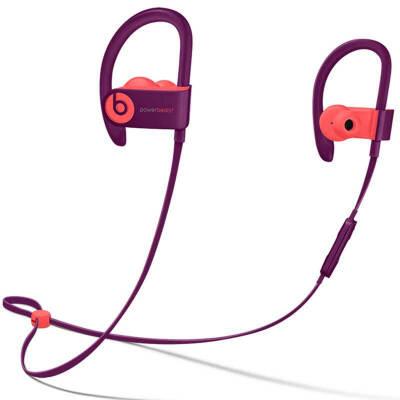 【当当自营】Beats Powerbeats3 Wireless 无线蓝牙 运动 入耳式耳机-POP红-MRER2PA/A Beats运动耳挂_运动依旧可以潮流