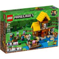 【当当自营】LEGO乐高我的世界:农场小屋 21144