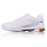 李宁LiNing运动鞋 AYAK021 男子羽毛球训练鞋 防滑透气跑步鞋