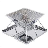 户外不锈钢便携烤箱MXA-106烧烤炉烤架 家用加厚烧