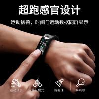 多功能时尚大彩屏智能手环时尚潮流手表男士跑步触碰户外新概念电子表