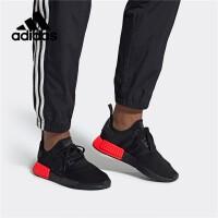 专柜正品Adidas阿迪达斯三叶草男鞋2019新款 NMD_R1 休闲运动经典鞋EE5107