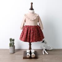 女童秋冬装连衣裙新款童装儿童公主裙小女孩裙子宝宝衣服