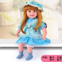会说话的动眼娃娃智能对话仿真巴比洋娃娃布娃娃儿童玩具女孩礼物gu8