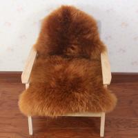 冬季纯羊毛地毯羊毛沙发垫整张羊皮皮毛一体卧室床边毯白色毛毛垫