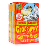 可怕的地理盒装 全10册 Horrible Geography 10 Book Boxset 英文原版 Scholas