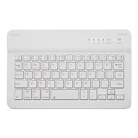 七夕礼物 蓝牙键盘通用手机平板电脑苹果ipad air2迷你4安卓便携外接 白色