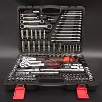 套筒扳手棘轮扳手套装汽修汽保工具套装组套汽车五金合组套工具箱