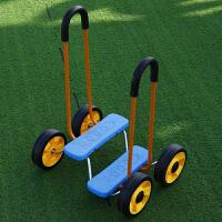 幼教专用儿童平衡踩踏车幼儿园感统训练器材幼教四轮平衡脚踏车