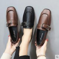 小皮鞋女新款韩版百搭方头学院风学生英伦女鞋单鞋乐福鞋