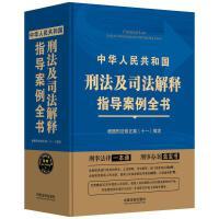 《中华人民共和国刑法及司法解释指导案例全书》根据刑法修正案(十一)编定(第三版)