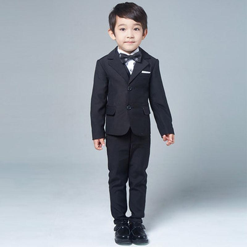 2016男童休闲西服外套花童礼服 新款韩版儿童西装套装男孩宝宝秋装秋冬
