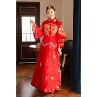 中式新郎新娘结婚套装礼服复古装婚纱秀和服新款中国风绣禾服 X