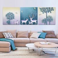 客厅装饰画沙发背景墙画3D立体浮雕画现代简约挂画卧室床头墙壁画