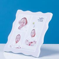 九宫格水晶相框定制摆台挂墙个性洗加创意小清新宝宝照片韩版制作 30寸70x85 cm挂