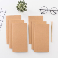 简约 复古牛皮纸旅行记事本 创意工作随身每日计划本 笔记本