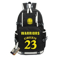 NBA勇士队 双肩背包男女学生书包