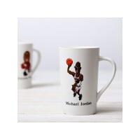 马克杯子 陶瓷杯水杯子咖啡杯带盖带手柄创意马克杯