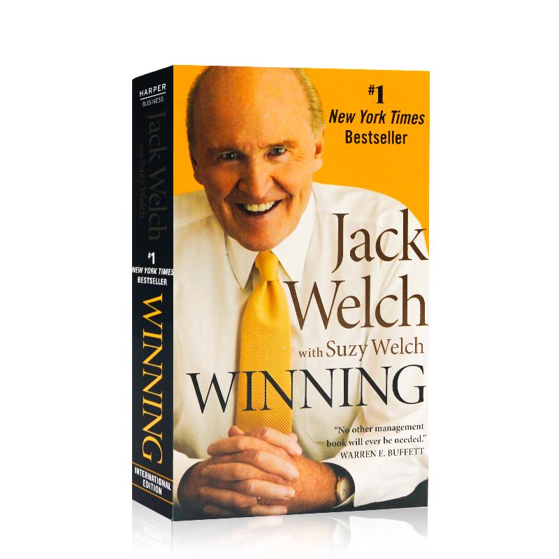 Winning 赢 英文原版 Jack Welch 杰克韦尔奇自传 经济管理书籍 通用电气CEO 经济学书籍 英文畅销书 通用电气CEO 经济学书籍 英文畅销书