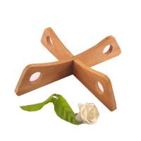 竹制厨房锅架 置物架 可拆分 多功能 锅架子