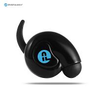 【当当自营】pivoful浦诺菲  蜗牛蓝牙耳机 小巧易戴一拖二 高清语音通话 来电报号 苹果手机电量显示 白色 黑色