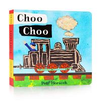 英文原版�L本Choo Choo 乘火�去 2到4�q 英�Z�⒚稍缃� �板�� 英�Z�⒚勺x物 Candlewick; Brdb