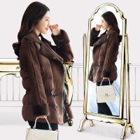 冬季新款短款加厚外套棉衣女修身时尚潮流女装