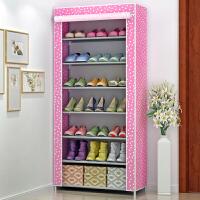 蜗家简易鞋柜/鞋架 大容量单排鞋柜 防尘加厚无纺布收纳柜 储物柜 柜子07C