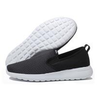 adidas阿迪达斯NEO2017新款运动鞋男鞋一脚蹬休闲鞋AW4187