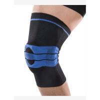 运动护具半月板十字韧带篮球羽毛球跑步登山基础款弹簧硅胶套入式运动护膝