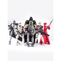星球大战人偶人仔风暴士兵模型光剑机器人儿童拼装积木玩具男孩子