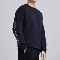adidas阿迪达斯男服卫衣2019新款圆领套头休闲运动服DV0968