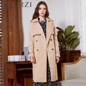 【商场同款】卓多姿百搭时尚纯色长袖外套女834333