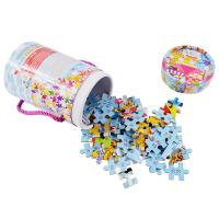 儿童玩具女孩积木 桶装拼图