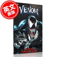 [预售]毒液:致命保护者 英文原版 Marvel Venom: Lethal Protector电影毒液漫画书原著 索