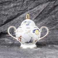 生日礼物欧式陶瓷咖啡杯套装创意英式咖啡杯陶瓷红茶杯下午茶杯父亲节送女友送男友送朋友送女友
