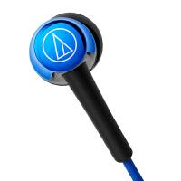 铁三角(Audio-technica)ATH-CKR30IS 线控带麦入耳式手机耳机 蓝色