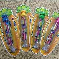 明达八色蜡笔 幼儿园儿童不脏手按动蜡笔 8合1旋转蜡笔 8色合1,可爱!