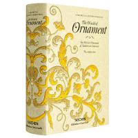 英文原版 The World of Ornament 世界古典装饰花纹图形图案艺术设计 纹样设计 19世纪装饰大全 装饰图案设计 TASCHEN进口原版艺术画册书籍