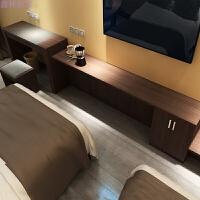 酒店宾馆公寓宿舍板式家具电脑桌橱子客栈写字台电视柜行李柜