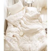 婴幼儿棉被 宝宝棉花被婴儿床小被子冬 新疆棉垫被芯 5斤 冬季款 匹配儿童/单人套件 (160*210