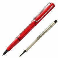 德国LAMY/凌美 safari狩猎者系列 亮红色签字笔 狩猎者宝珠笔 学生商务签字笔 凌美签字笔礼品 走珠笔 水笔
