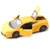 兰博基尼仿真汽车模型开门惯性儿童玩具惯性车男孩小汽车车模礼物